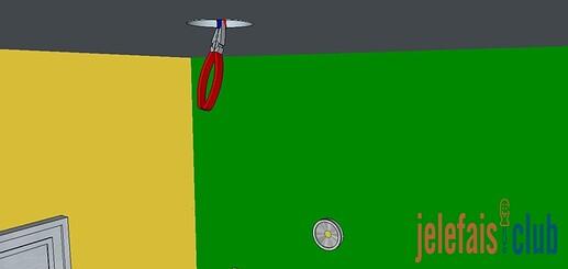 plafond-fil-conducteur-pince
