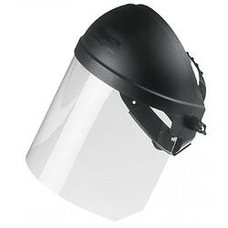 visière de protection avec casque