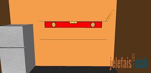 tracage-ligne-parallele-niveau
