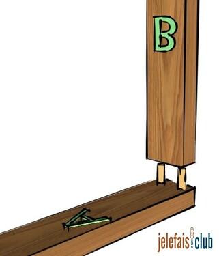 assemblage-plat-joint-percage-tourillon-hauteur