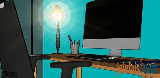 eclairage-faible-diffusion-table-bureau