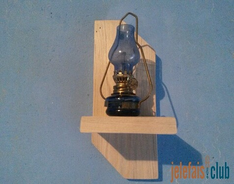 support-mural-lampe