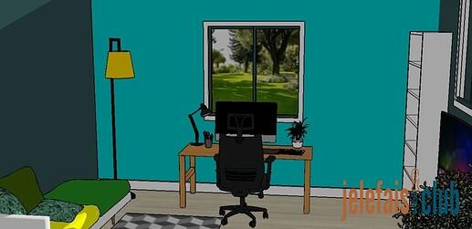 table-bureau-ecran-ordinateur-fenetre