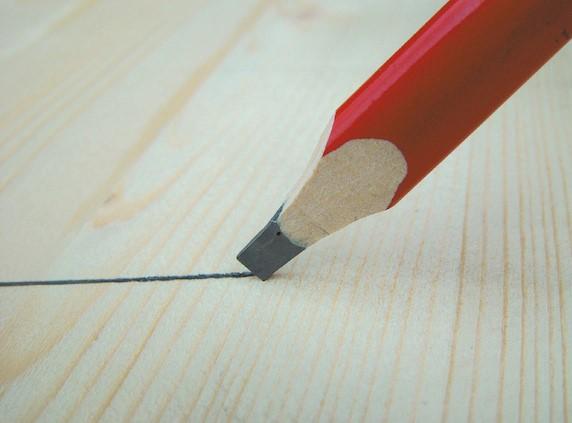 crayon-menuiserie-bois-traçage